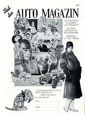 "Advertising ""Lest das Auto-Magazin""  Photo-Collage c.1928"