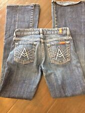 7 For All Mankind A Pocket 24 Bootcut Medium Wash Women's Jeans