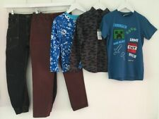 BOYS 8-9 YEARS CLOTHES BUNDLE JEANS T-SHIRTS & SHIRT NEXT MATALAN GEORGE PRIMARK
