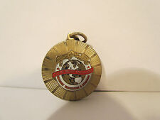 Vintage Calgary Exhibition & Stampede Greatest Outdoor Show On Earth Keychain