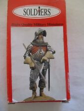Figurine kit 54mm. SOLDIERS. Homme d'armes fin XVe siècle