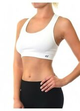 Womens Fashion Sports Bra Crop Tank Top Sleeveless Racer-back Tops Yoga Fitness