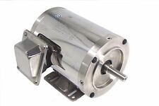 On Sale! Gator Stainless Steel 575V AC Motor 3/4HP 1800RPM 56C TENV 1 Yr Warrant