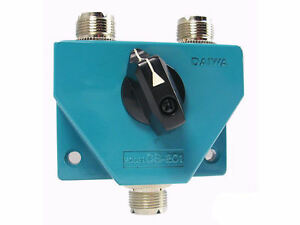 Daiwa CS-201A 2 Position Coax Switch (SO-239 UHF Female Connectors) For PL-259