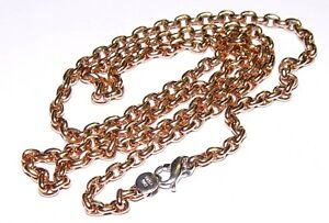 """""""H"""" 14K Yellow Gold Chain 27.4 grams 24"""" ITALY"""
