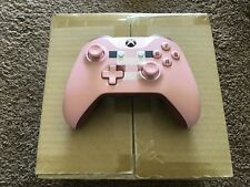 OFFICIAL XBOX ONE MINECRAFT PIG WIRELESS CONTROLLER BRAND NEW 3.5MM