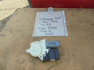VOLKSWAGEN GOLF OFF SIDE REAR ELECTRIC WINDOW WINDER MOTOR 1.6 SR 2000  MARK 4