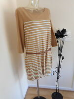 BNWT LADIES   M & S TUNIC TOP WITH BELT SIZE 22   RRP £25