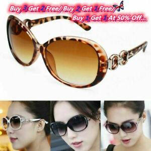 Vintage Ladies Sunglasses Women's Retro Shades Summer Fashion Designer UV400