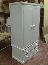 Dewsbury Handmade White 2 Drawer Wardrobe No FLATPACKS