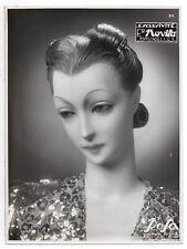 PHOTO MANNEQUIN FEMME NOVITA ROSA Surréalisme Surréaliste 1930 Buste Étrange