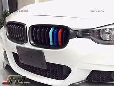 2012-2015 BMW F30 320i 328i 335i 4Dr/5Dr Matte Black M Tri Front Grille Grill