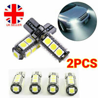 501 Led Side Light Bulbs T10 Car White Error Free Canbus 13 Smd Xenon Sidelight