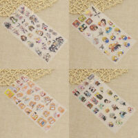 Hot Japanese Anime Sticker DIY Decal Diary Album Label Accessories Craft Decor