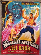 Affiche originale-120x160- LES NOUVELLES AVENTURES D'ALI BABA -Belinsky-litho
