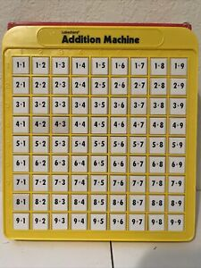 Lakeshore Addition Machine - Push Button Math Recommended For Ages 5-7 Pre-0wned