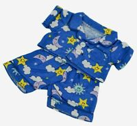 "Teddy Bear FLANNEL PJs CLOTHES Fit 8""-10"" Build-a-bear !! NEW !! FREE SHIPPING"