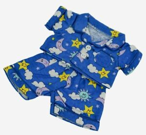 """Teddy Bear FLANNEL PJs CLOTHES Fit 8""""-10"""" Build-a-bear !! NEW !! FREE SHIPPING"""