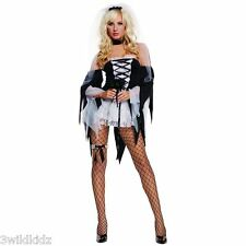 Diane Tawed Costume Adult Corpse Bride Halloween  - Size S-M  Halloween Costume