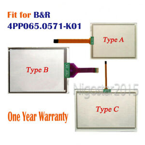 New for B&R 4PP065.0571-K01  4PP065-0571-K01 Touch Screen Glass 1 Year Warranty