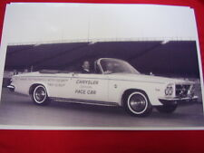 1963 CHRYSLER 300 CONVERTIBLE  PACE CAR  BIG  11 X 17   PHOTO   PICTURE