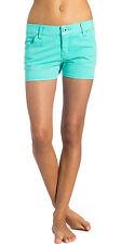 BNWT Donna Ripcurl Da Donna Walkshort Pantaloncini Neal Turchese Blu W30 UK 12