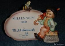 Merry Wanderer Goebel Hummel Dealer Plaque #900 TMK8 ULTRA RARE Millennium 2000