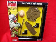 1964 VINTAGE GI JOE GEYPERMAN  JOEZETA:  1975   EXPLORADOR AFRICANO  BOXED