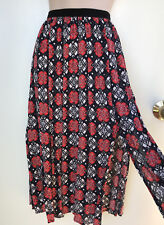 "FRENCH CONNECTION ""Souk Sunrise"" Japanese Print Multi Skirt Sz 8 NWT Rrp $99.95"