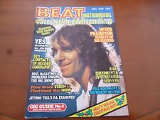BEAT INSTRUMENTAL DECEMBER 1976 PETER FRAMPTON, FLEETWOOD MAC, PETER GREEN *PICS