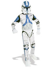 Boys Star Wars Clone Trooper Halloween Book Week Fancy Dress Costume Ages 3-10