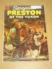 SERGEANT PRESTON OF THE YUKON #16 G (2.0) DELL COMICS OCTOBER 1955