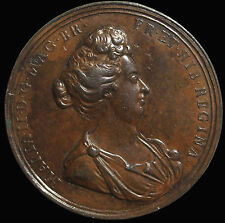 Great Britain Mary As Regent 1690 AE Medal Eimer.320 Rottiers