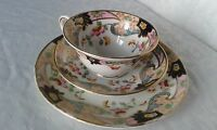 VINTAGE STUNNING ROYAL STAFFORD BONE CHINA TRIO CUP SAUCER AND SIDE PLATE