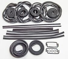 HOLDEN COMMODORE VB VC VH VK SEDAN RUBBER KIT DOOR WEATHER SEAL BAILEY 27pcs