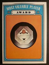 1972 TOPPS BASEBALL #622 MOST VALUABLE PLAYER  AWARD  EX-MT