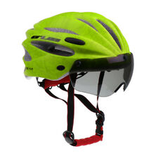Adjustable Adult Mens Womens Cycle Helmet Bicycle Bike Magnetic Visor Hat
