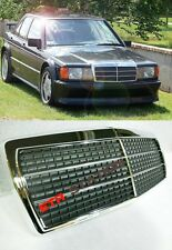 190E EVO Look Front Chrome Grille Mercedes Benz W201
