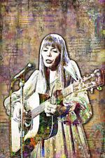JONI MITCHELL Poster, Joni Mitchell Music Tribute with Free Shipping US