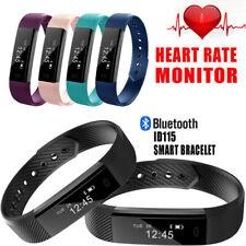 Smart Bracelet Heart Rate Monitor Blood Step Counter Fitness Tracker Smart Watch