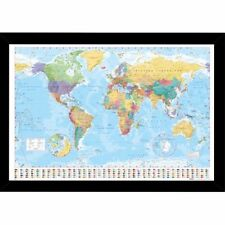Unbranded World Map Home Décor Posters & Prints