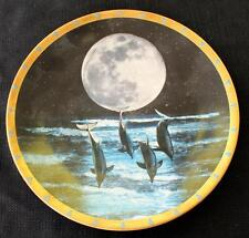 Vintage 1995 Lenox Moonlight Fantasy Collection Moonlight Highway Décor Plate