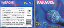 Karaoke CD+G Populaires Francais Vol.10 CDG BRAND NEW, MusicaMonette from Canada