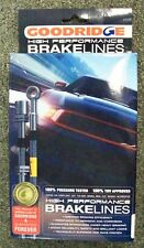 Goodridge 12290 Brakeline Kit, Cadillac XLR 04-09, Corvette 05-11