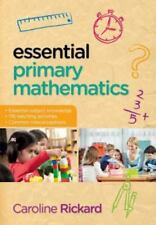 Essential Primary Mathematics by Rickard (2013, Paperback)