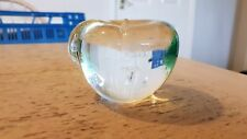 * RARE* LANGHAM LARGE APPLE PAPERWEIGHT DOMINO PIZZA STAFF PRIZE WINNER 1992
