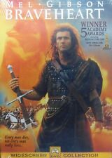 Braveheart (1995) Mel Gibson Patrick McGoohan Winner of 5 Academy Awards Sealed