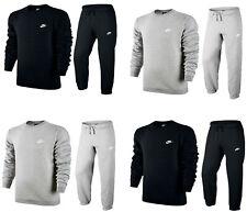 Nike Mens Club Tracksuit Bottoms Crew Neck Sweatshirt Joggers Sweatpants Cotton
