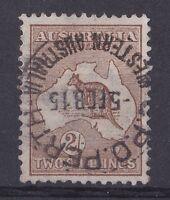 SE29) Australia 1913 2/- Brown 1st wmk Kangaroo
