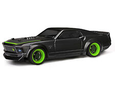 112856 HPI MICRO rs4 DRIFT s13 [#113081] 1969 Ford Mustang Rtr-X corpo dipinto